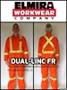 CLASS 3 LEVEL 2 CSA Z96 FIRE RESISTANT COVERALLS
