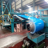 forming machine to make roof sheet as color steel coil