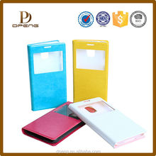 Custom Newest book style flip leather case for mobile phone ,pu leather phone case