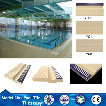 ceramic swimming pool tile bullnose coping tiles for pools