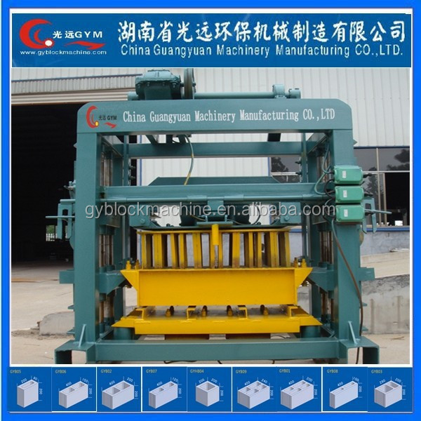 Concrete Brick Raw Material and Hollow concrete road edge block making machine