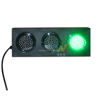 Shenzhen LED Lighting Two Sides Mini 125mm Red Green Yellow Road Model Traffic Light