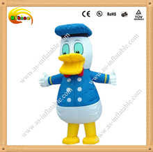 Attractive cheap and fine inflatable cartoon donald duck