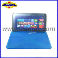 10 Inch X Line Soft TPU Gel Protective Tablet Cases Cover for Samsung ATIV Tab P8510