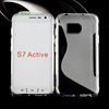 gel tpu case for SAMSUNG Galaxy S7 Active S line models soft Clear case for S7 Active