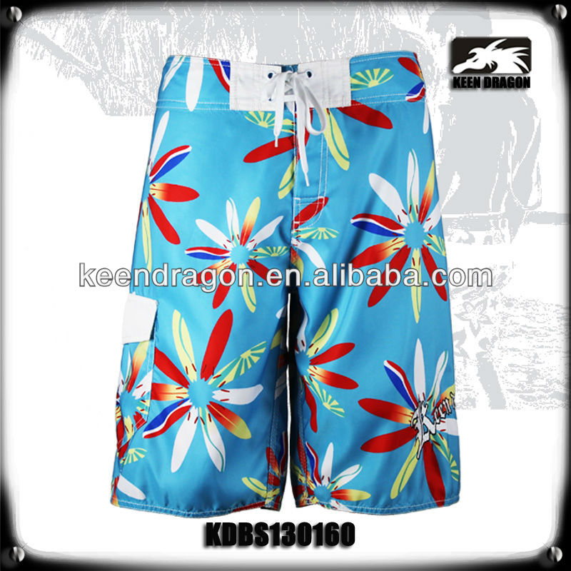 new collection swimwear floral print blue sexy short hot pants