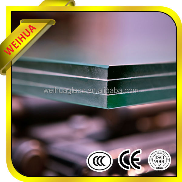Clear/tinted/colored laminated glass with CE/CCC/SGS/ISO