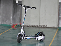 Stable Quality 500W 2 Wheel Electric Scooter with Hub Brushless Motor