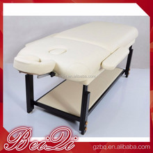 Wholesale portable beauty salon equipment sets spa massage bed , wooden used massage table for sale BQ-843