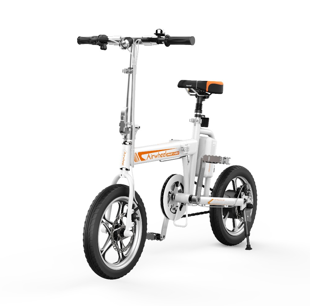 Airwheel R5 Automatic <strong>Folding</strong> Electric Bike with Intelligent App