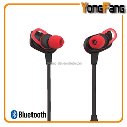 in ear wireless bluetooth ear piece headphone with rich bass and high level of water resistance