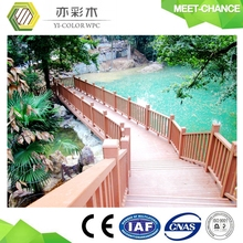wood plastic composite wpc outdoor railing/fence