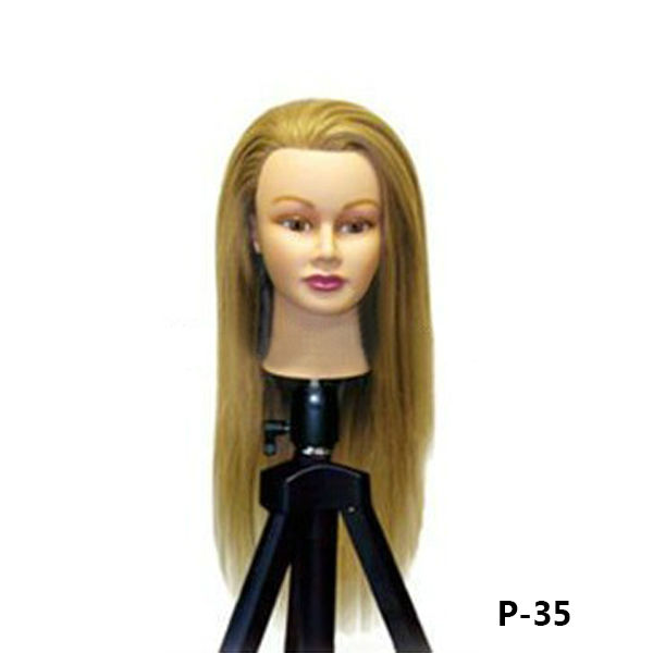 Female Mannequin Head tripod For Different Style Hair