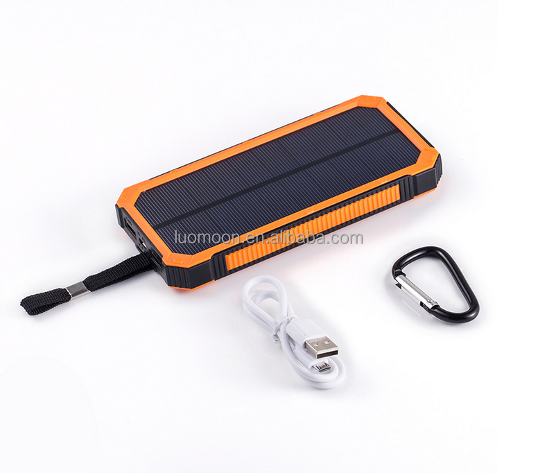 2400mah - 10000mah flexible solar power cell phone charger for nokia mobile