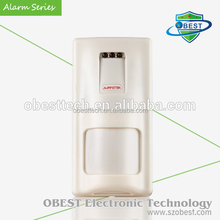 Infrared and Microwave Alarm Motion Detector