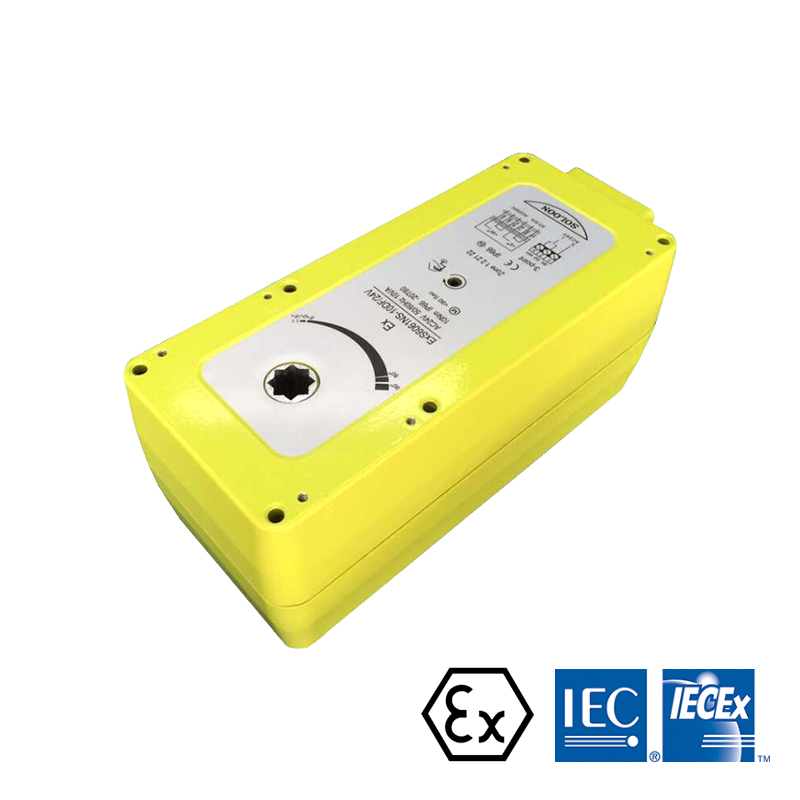 10NM ON/OFF ATEX IECEx Listed without spring Explosion Proof Damper Actuator for HVAC System