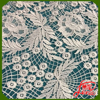 Wholesale 100% polyester Custom design Water soluble embroidery fabrics For Garment