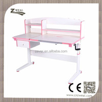 hot sell and stable Mutifunctional height adjustable folding study table and chair with simple designs