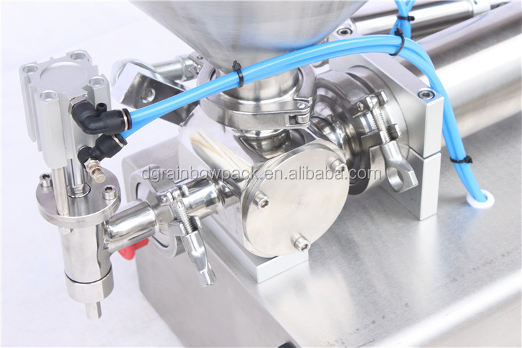 Factory price small scale bottle salsa filling machine