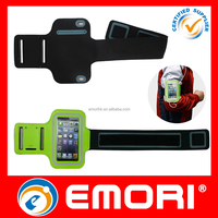 custom can touch screen Sports Armband jogging case for mobile phone