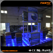 simple trade show booth aluminum frame truss exhibition display