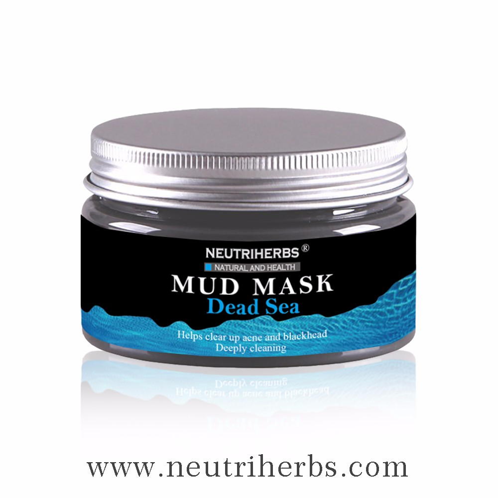 beauty case Neutriherbs Herbal Ingredients moisturizing cosmetic dead sea mud natural face mask for women skin care