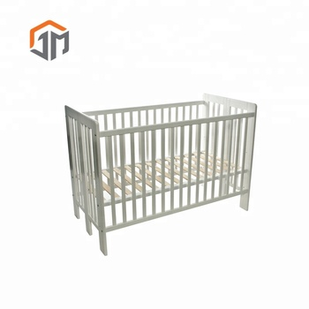 2019 New Products Wooden Baby Cot Bedroom Set Folding Bed