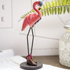 2018 Custom Polyresin statue Flamingo for home decoration