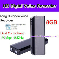 digital voice recorder in USB flash driver type with 8Gb memory