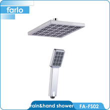 FARLO Chrome hand shampoo shower head