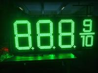 Gas station LED sign display Waterproof 7 Segment Electronics LED Sign Board Price