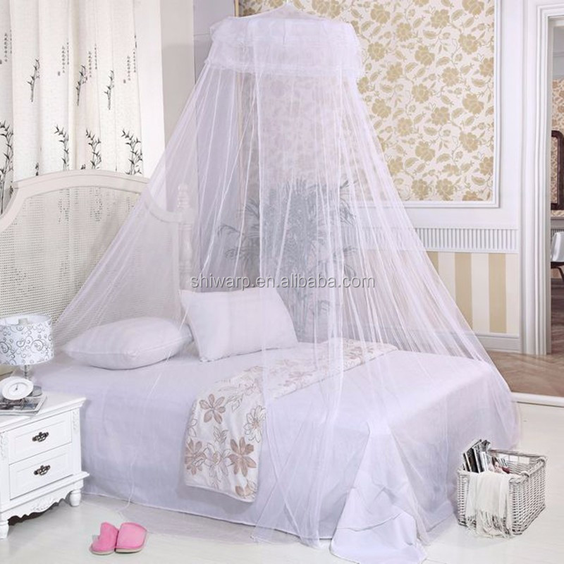 China supplier bed canopy hanging round mosquito net for bedroom
