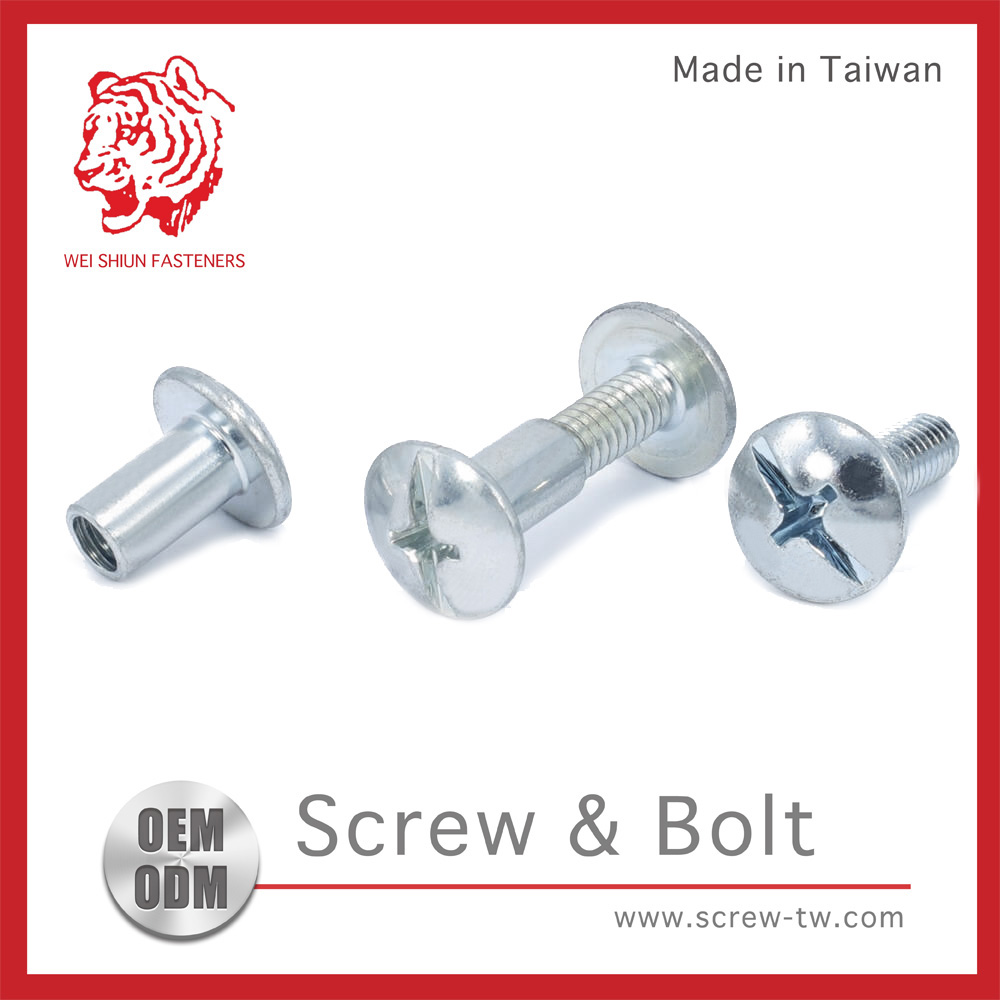 Taiwan Male C1022 Female Screws Chicago Screws Sex Bolts