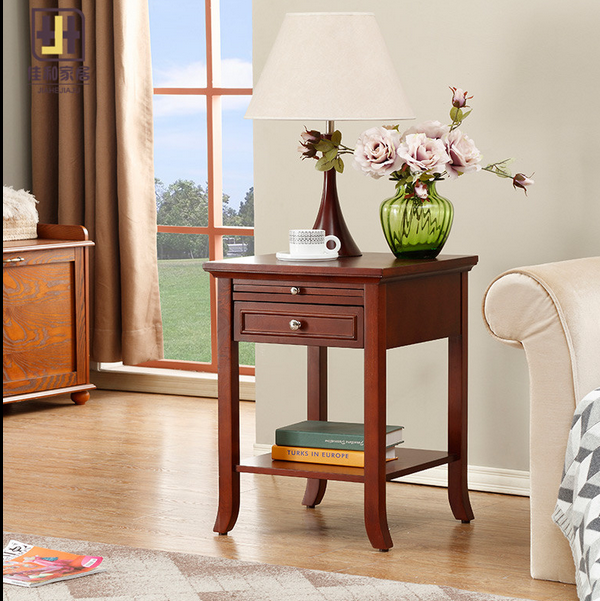 2017 walnut American heritage 3 tier end table for living room