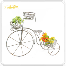 New Bicycle metal Garden flower pots Iron Ornaments