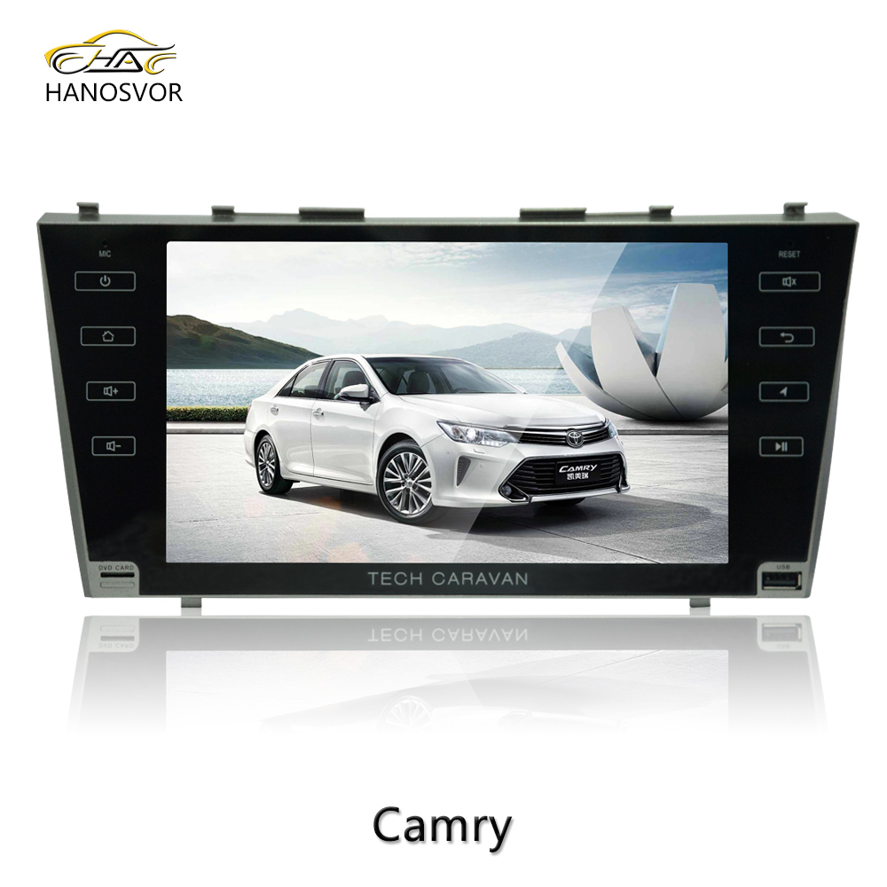 "1.5 Din 9"" Car GPS for Android 6.0 for Camry Car Multimedia Player GPS Bluetooth TV Radio"