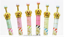 2014 new wholesale metal crown design ball point pen good for promotion