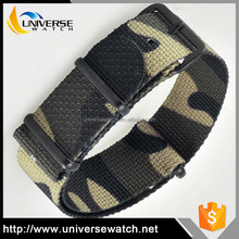 Factory direct price customized size nato army camo watch band strap