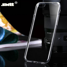 For iphone 6 clear tpu case Crystal Clear Transparent Soft Silicon 0.6mm TPU Case for phone case