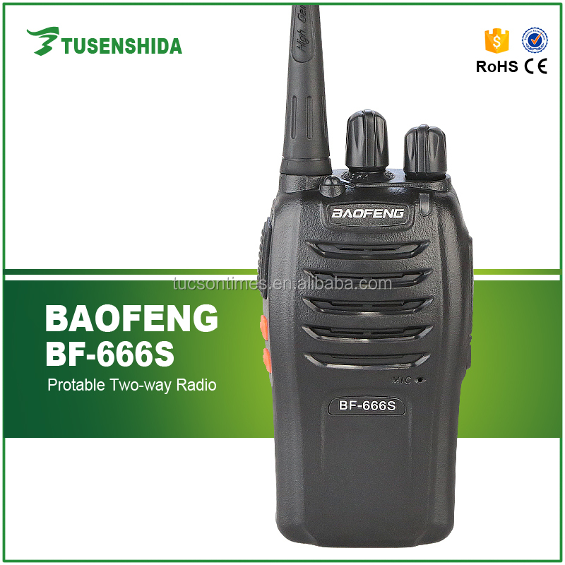 Baofeng mobile radio for BF-666S UHF 400-470mhz frequency radio