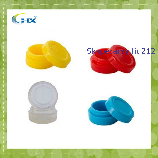 G-2014 New Products Medical Container 32mm/35mm/55mm Custom Mason Jar Silicone Lids Cheap Price Silicone Jar For Wax