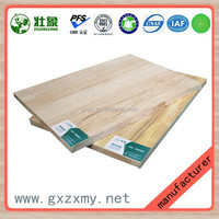 100% Formaldehyde Free Eco Friendly Melamine Board Solid Wood Board