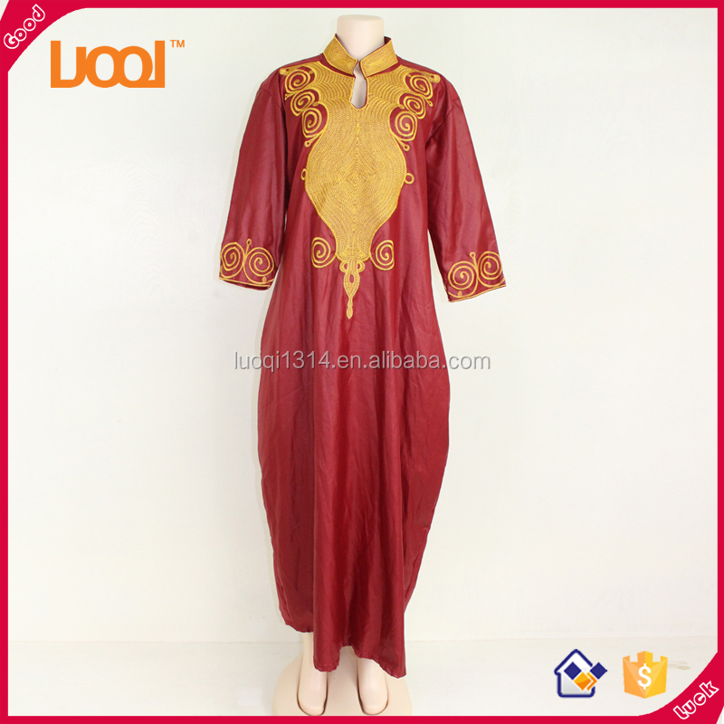 African Women Evening Gown Ethnic Dresses Women's Kaftan Dresses