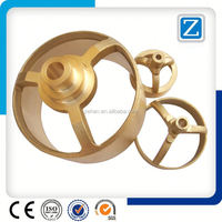 OEM High Quality Precision Hot Forging Brass Parts/CNC Machining Parts