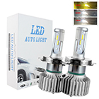 liwiny h13 led headlight bulbs four color head lamp waterproof 3600lm led bulb lights for cars