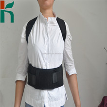 OEM available sports back support brace with steel for women