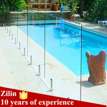 Zilin Frameless Tempered Glass Pool Fence Panel price