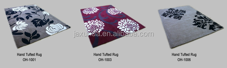 New design luxury geometric Modern pattern Hand Tufted area Rug