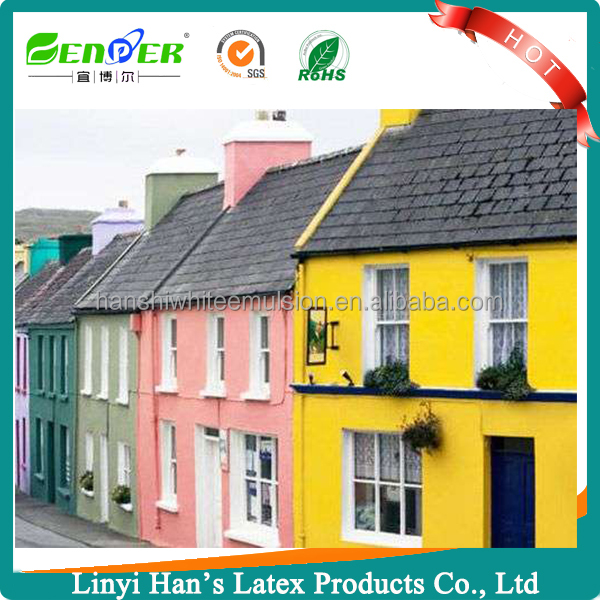 Han' s best outdoor acrylic silicone based emulsion coating home exterior wall paint