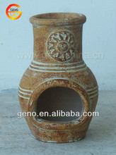 Winter gathering wholesale clay chimineas